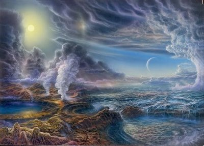 Resultado de imagen para DIJO Dios: «Bullan las aguas de seres vivientes, y vuelen los pájaros sobre la tierra frente al firmamento del cielo».