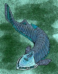 ¿Existió una civilización que coexistió con los dinosaurios? 220px-cephalaspis20tenuicornis