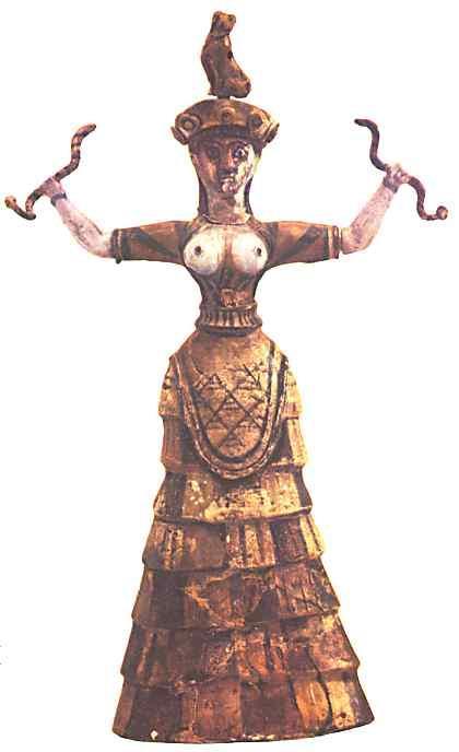Resultado de imagen para diosa serpiente