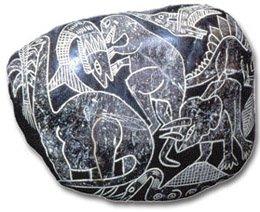 ¿Existió una civilización que coexistió con los dinosaurios? Piedras-de-ica-18