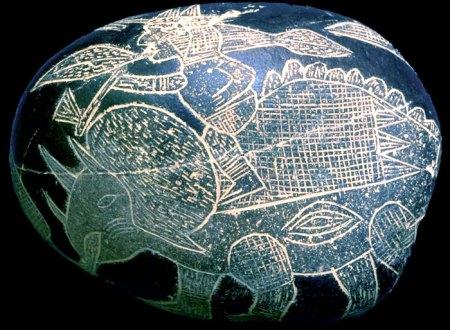 ¿Existió una civilización que coexistió con los dinosaurios? Piedras_ica_3