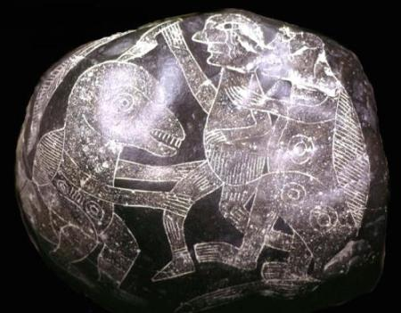 ¿Existió una civilización que coexistió con los dinosaurios? Piedras_ica_41