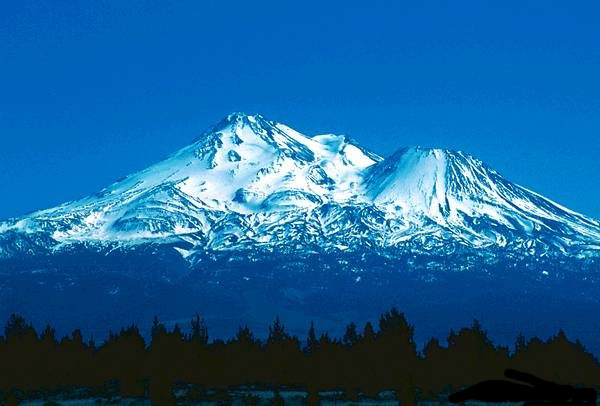 how tall is mt shasta