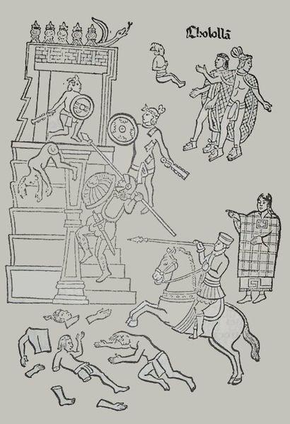 Cuando Moctezuma tuvo la visión de hombres desconocidos que venían a ...