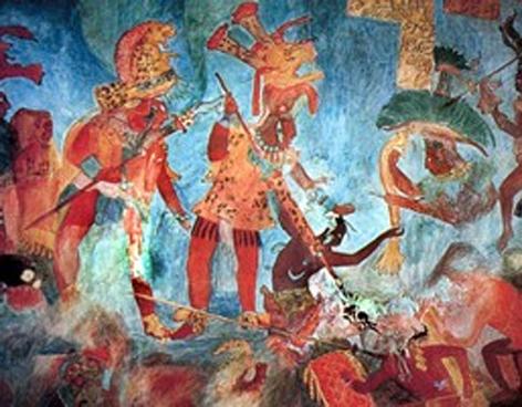 Veritas boss la sorprendente cultura maya 3 for El mural de bonampak