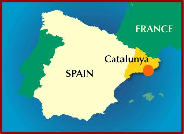 Resultado de imagen de catalunya en el mapamundi