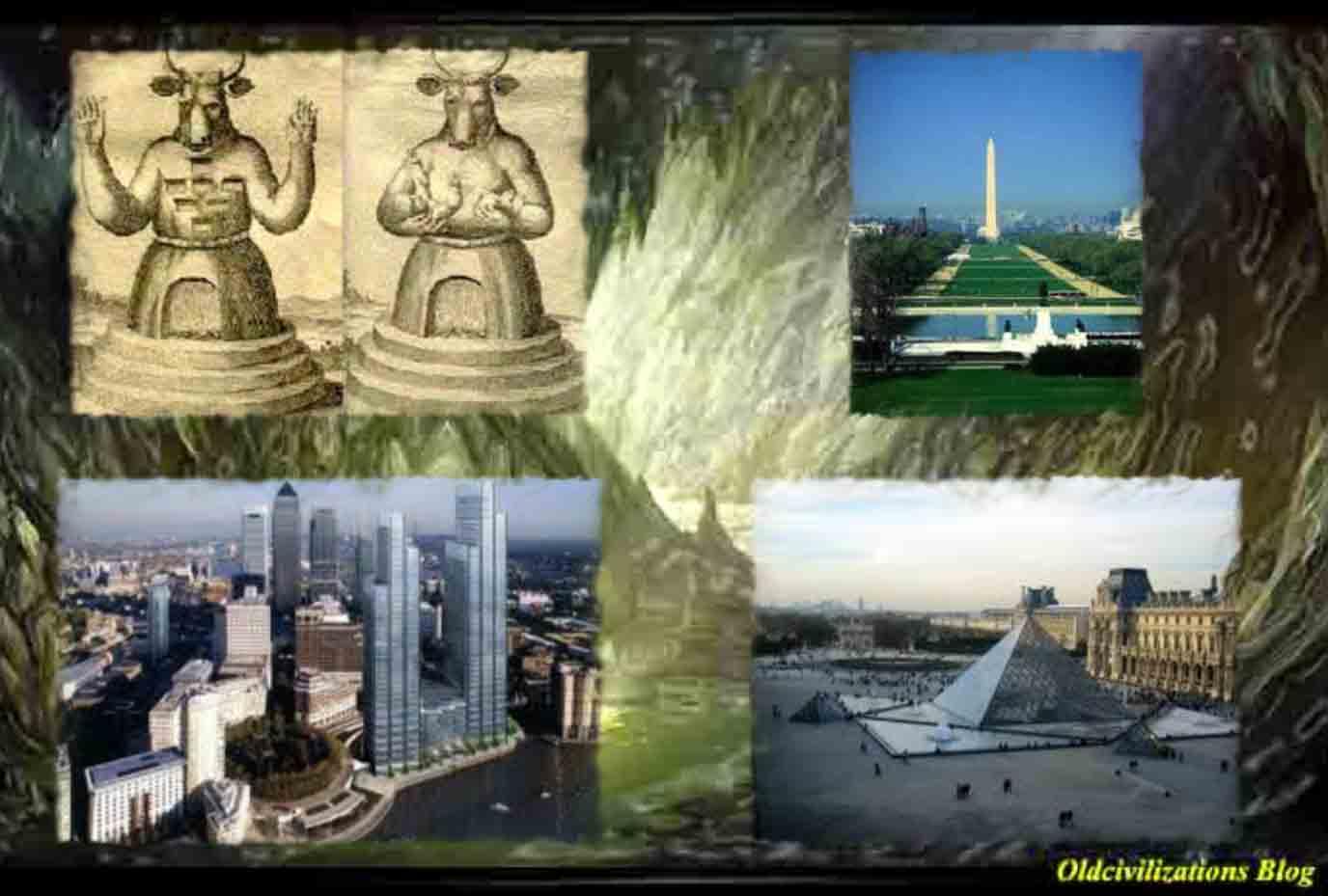 Los herederos de los iniciados del antiguo egipto 2 2 - Planos de la casa blanca ...
