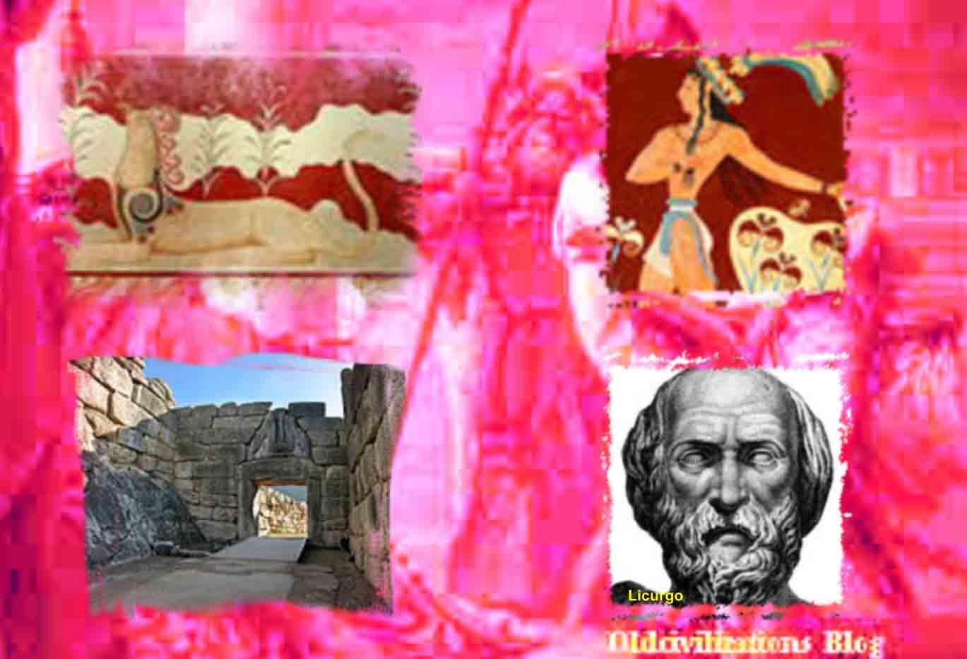 Micenas, uno de los mayores centros de la civilización griega ...