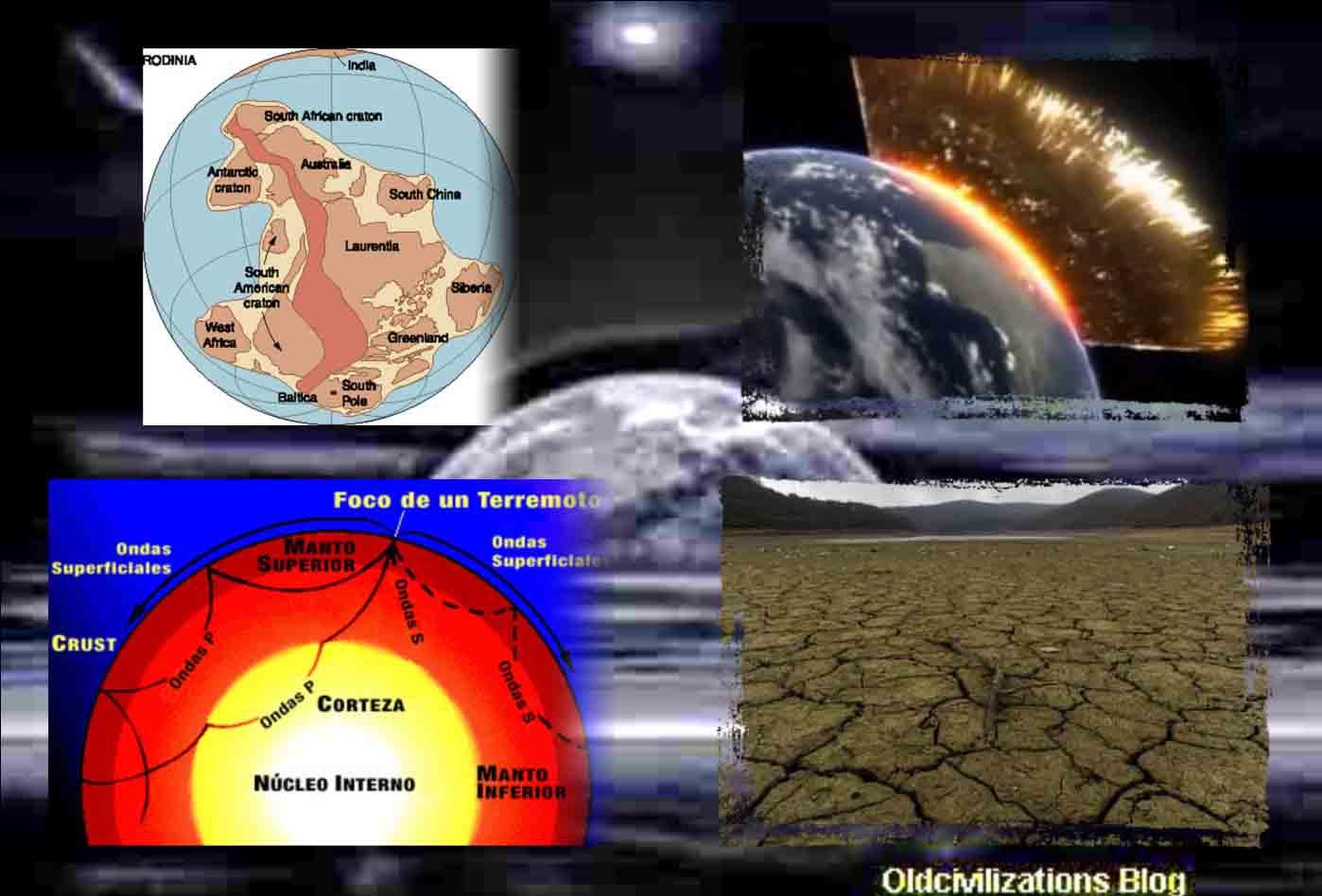 Resultado de imagen de El clima y la topografía del planeta varía de manera continuad