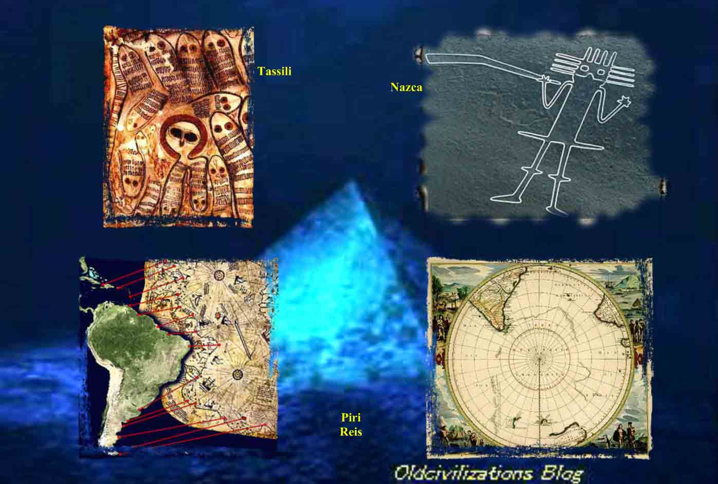 Resultado de imagen de Los habitantes del cielo de Anu huyeron del diluvio