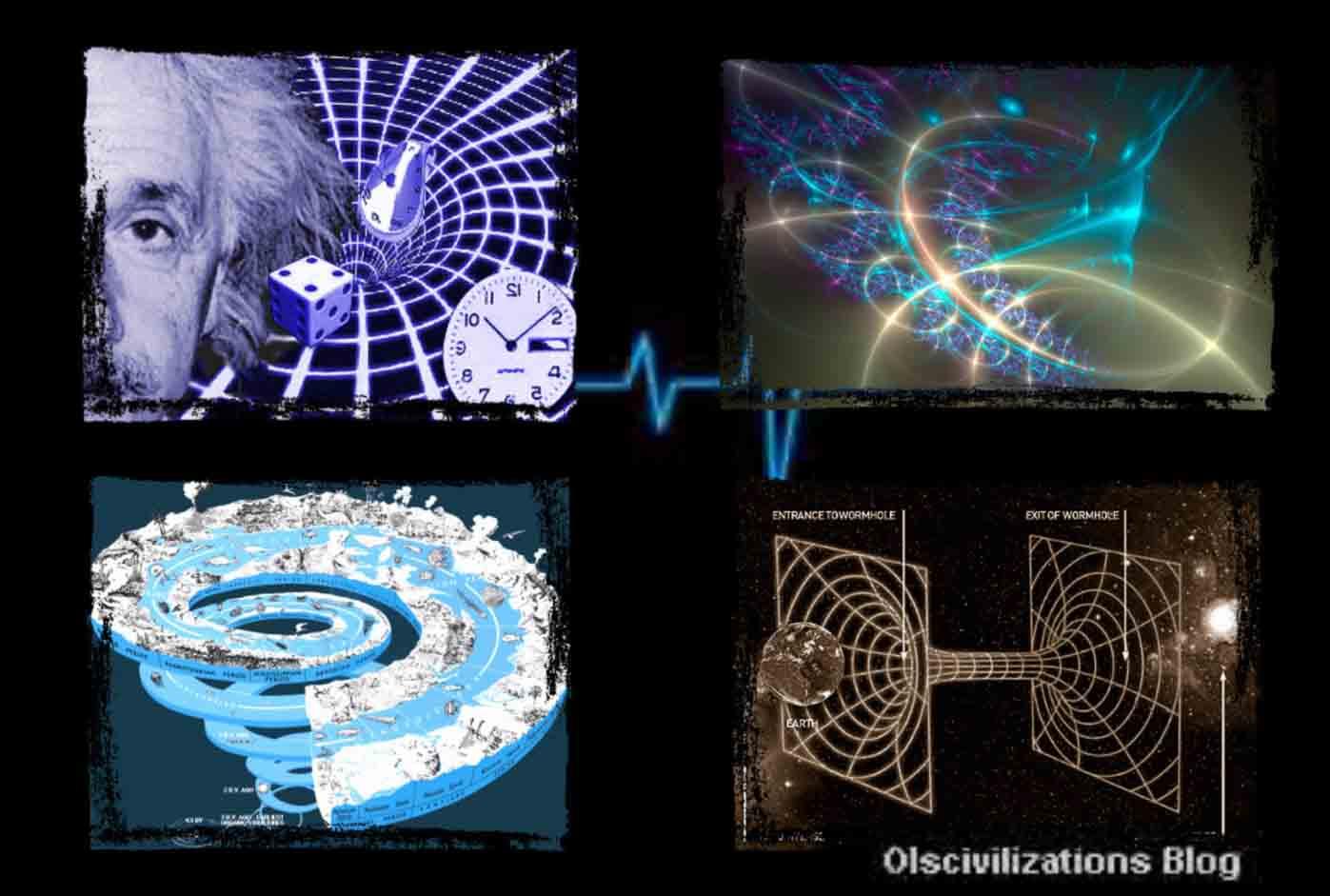 Resultado de imagen de Sólo constatamos tres dimensiones espaciales y una temporal