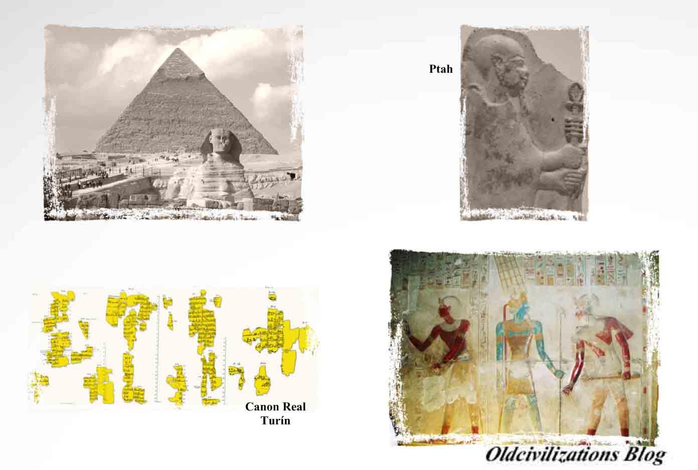 Porque el documento refiere que, en el principio de los tiempos, Egipto fue  gobernado durante 11.000 años por un grupo de seres, semidivinos, ...